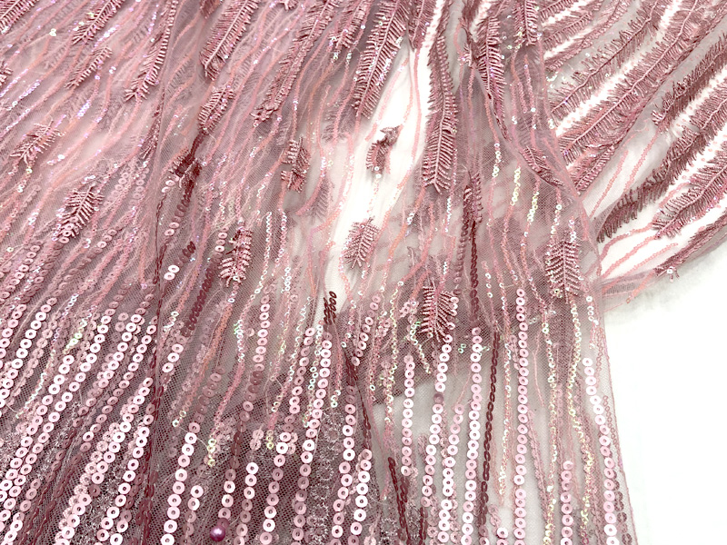 embroidery tulle lace fabrics